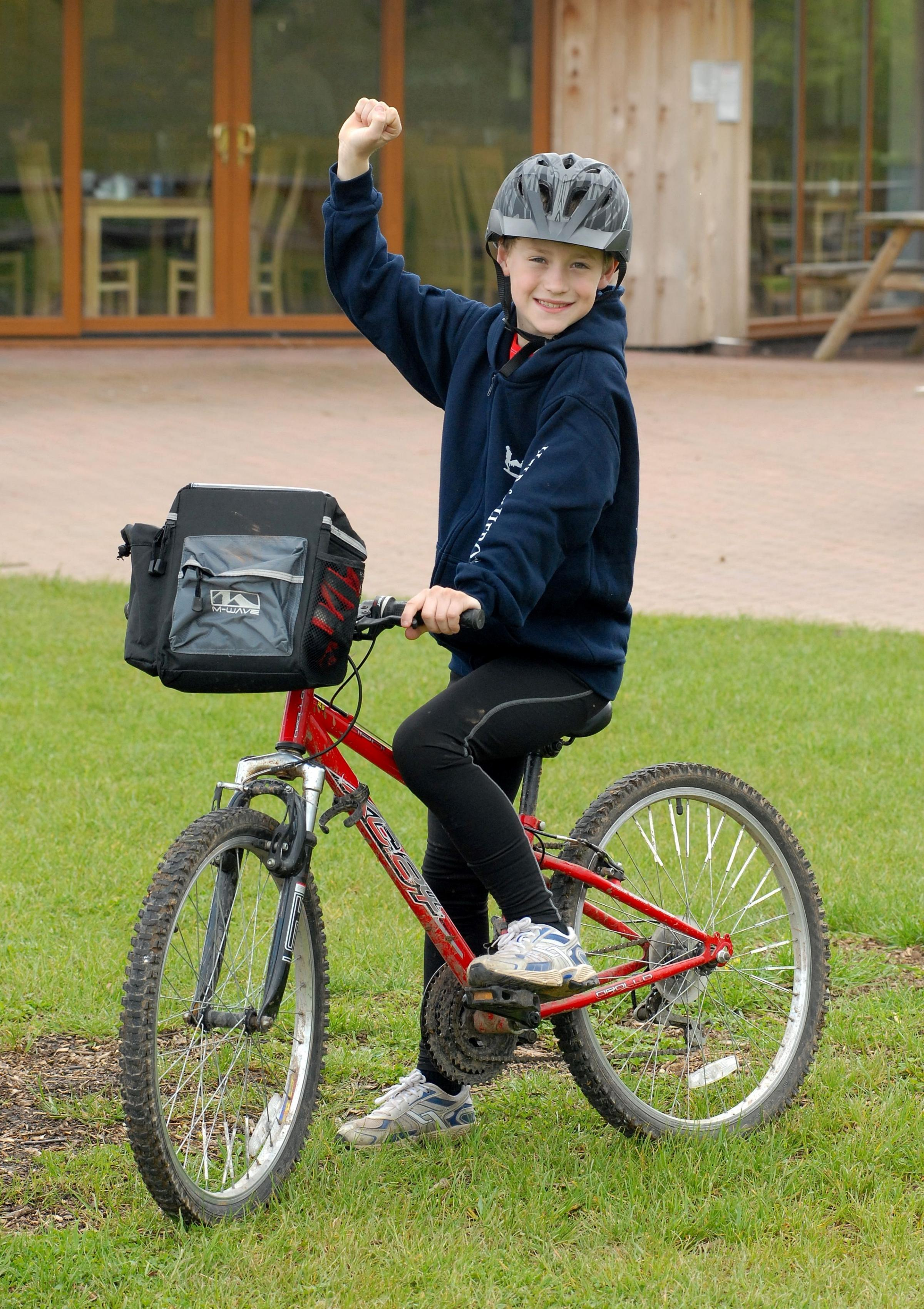 Ten-year-old boy launches men-only charity cycle in Worcester