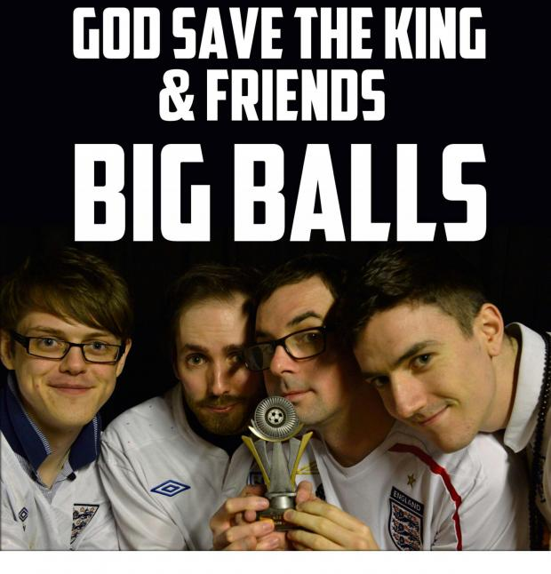 Worcester News: God Save the King