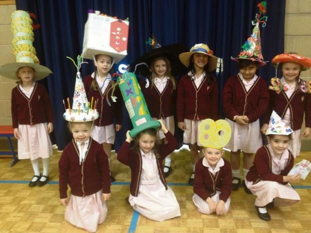 Pupils from St Mary's Worcester have enjoyed a marvellous maths week