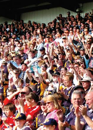 LOYAL SUPPORTERS: Worcester Warriors fans will be able to take advantage of a 'debenture holiday' following the club's relegation.