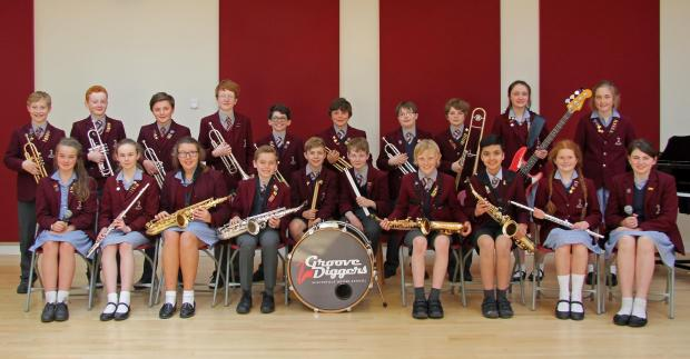 Groove Diggers is made up of pupils from Winterfold House School