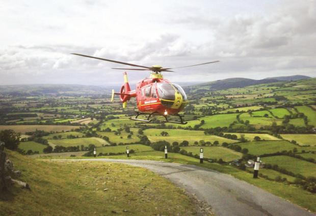 Seriously ill child airlifted from primary school