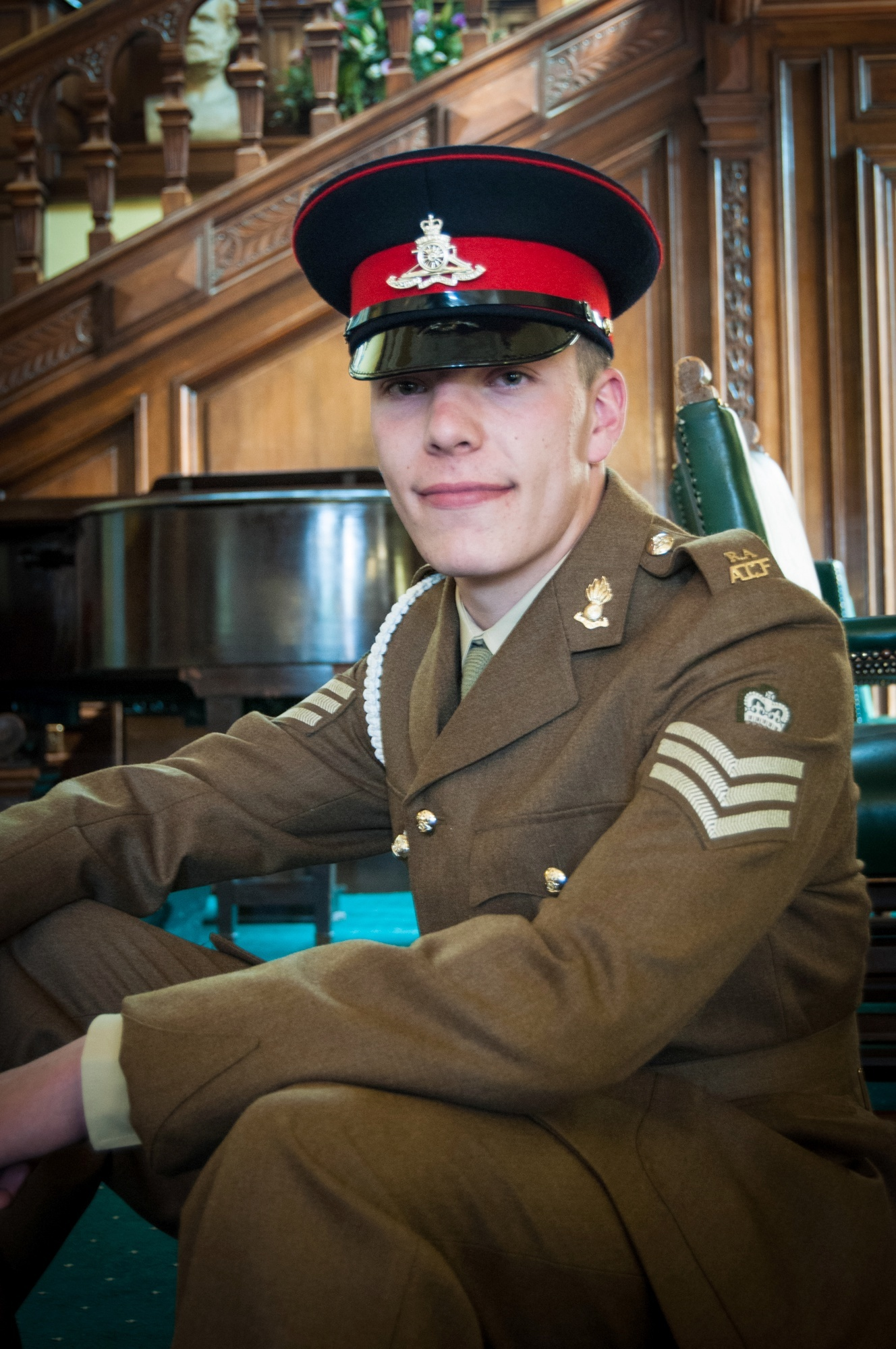 Army cadets honoured for their efforts