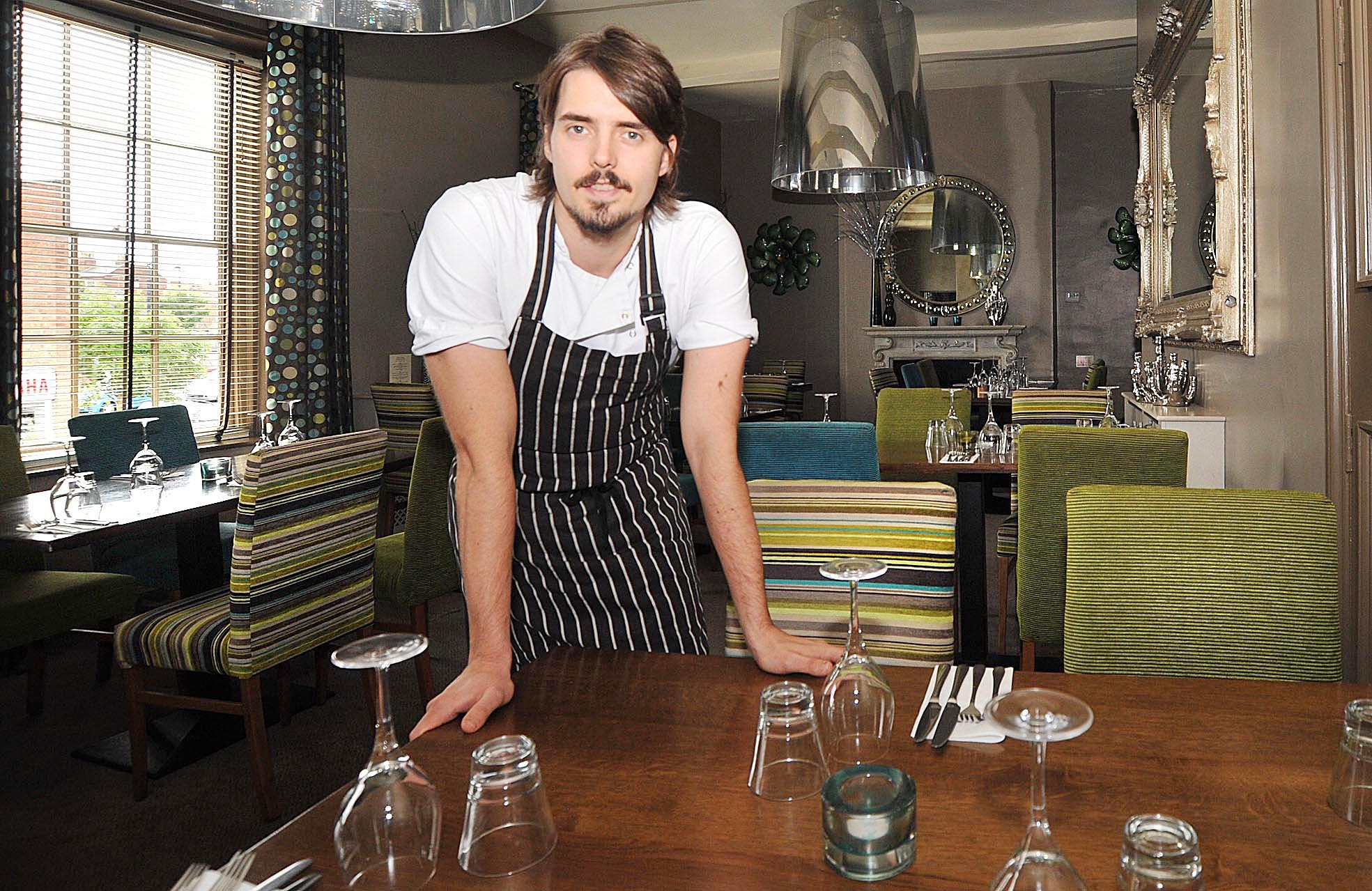 Chef in the running for fundraising event