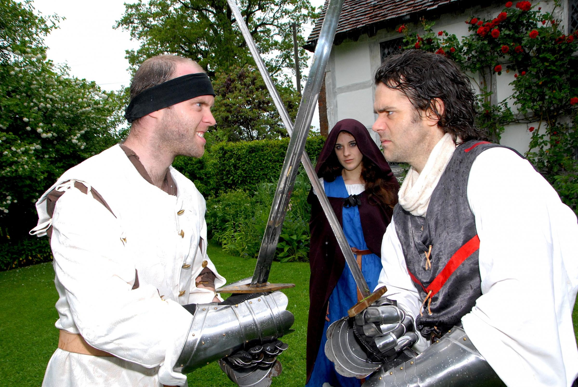 Record numbers enjoy Medieval festival