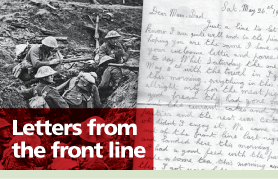 Worcester News: Letters From The Front Line