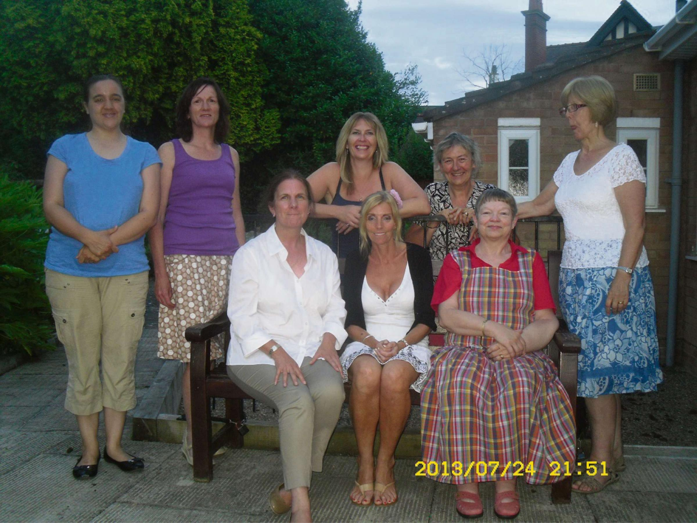 Members of Worcestershire's Macmillan Buddy Service