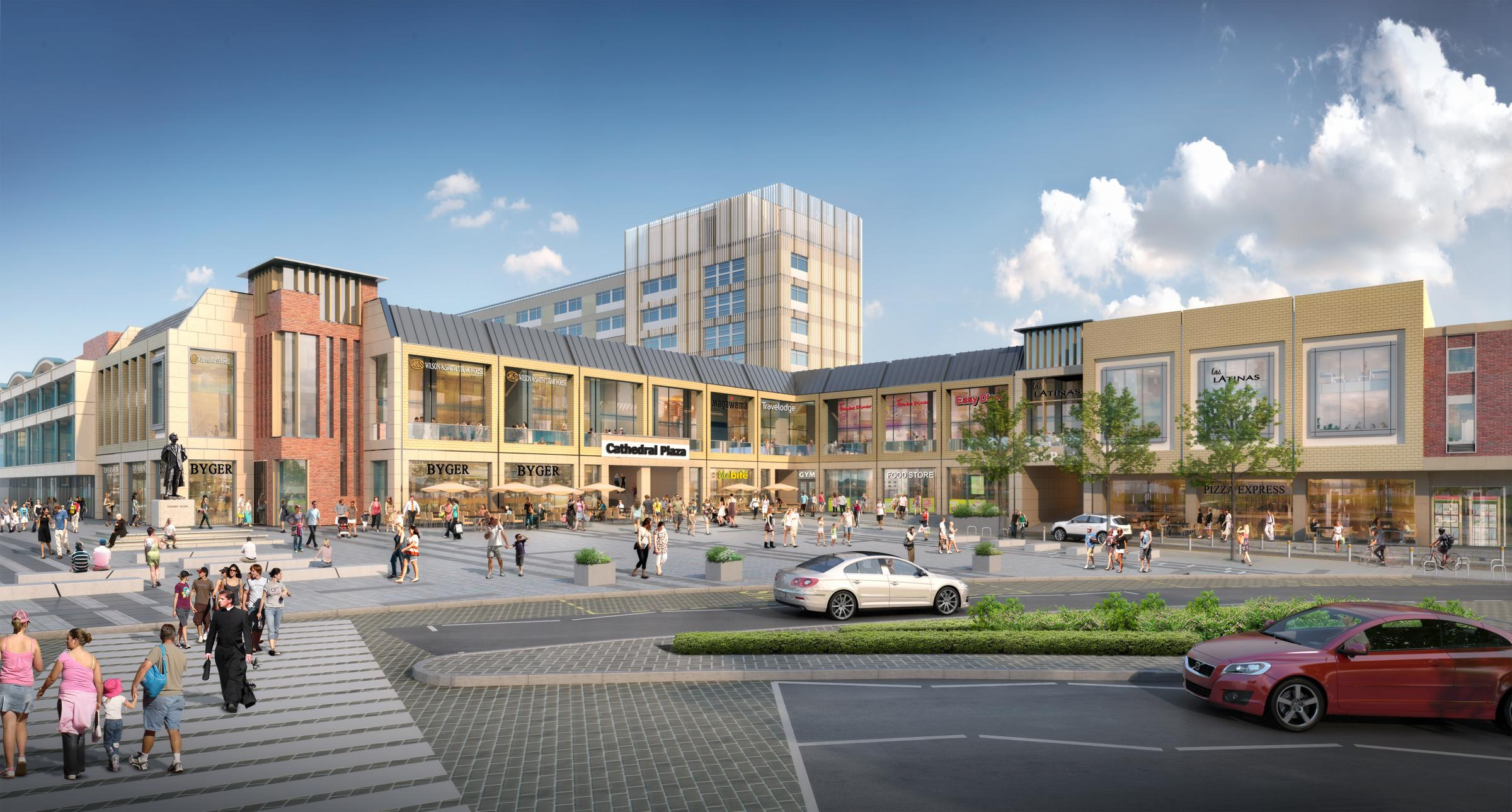 Cathedral Plaza shopping centre revamp could create 100 jobs for Worcester