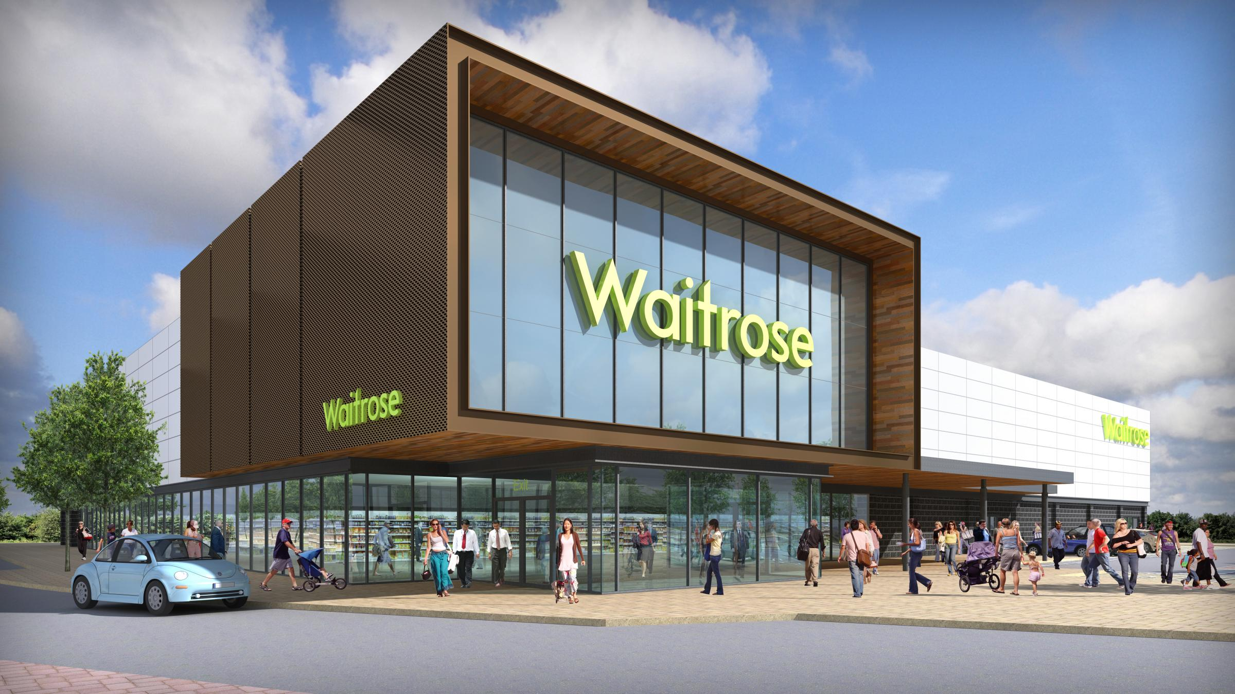 Waitrose bosses delighted to get Worcester green light after