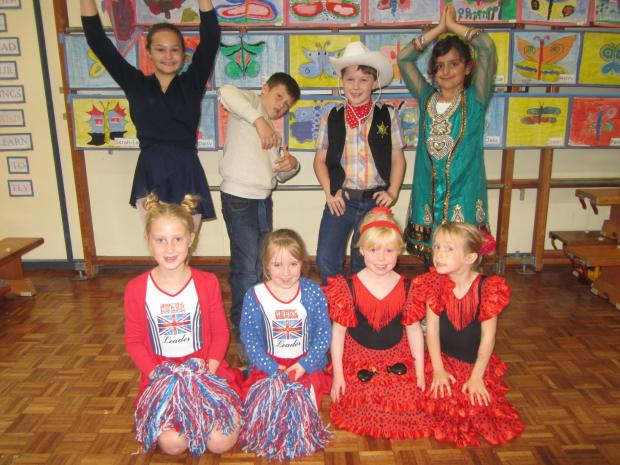 Worcester News: Back row from left to right: Sophie Dixon, Layton Cowell, Ethan Howden, Francesca BierleyFront row: Fenella Walker, Olivia stimson, Harriet Roome, Amelia Slade