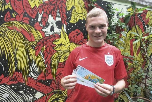 Worcester News: Worcester lad Luke's World Cup Diary
