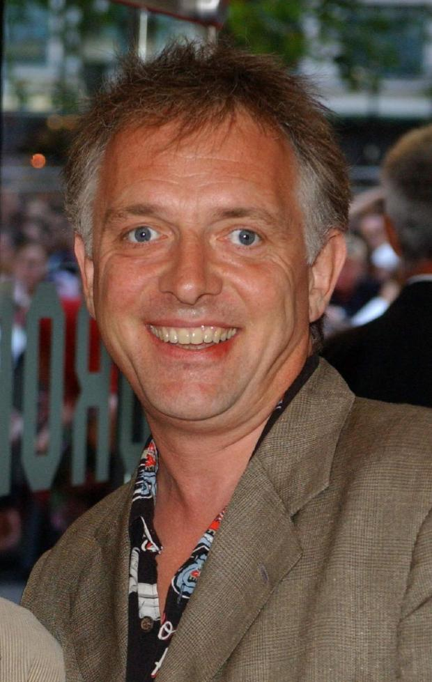 "Worcester News: File photo dated 21/07/03 of Rik Mayall, whose funeral takes place today with his family asking fans for their ""thoughts and prayers"". PRESS ASSOCIATION Photo. Issue date: Thursday June 19, 2014. The private ceremony for the star, who died last"