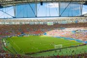COLOURFUL: Brazil's Maracana stadium