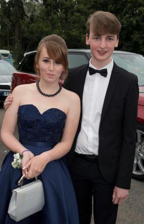26/6/14  Chase High School Prom at The Pavillion, WorcesterL-r Laura Hazlewood, Edward Jones (7602653)
