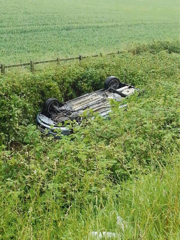 Worcester News: Couple miraculously unhurt after M42 crash