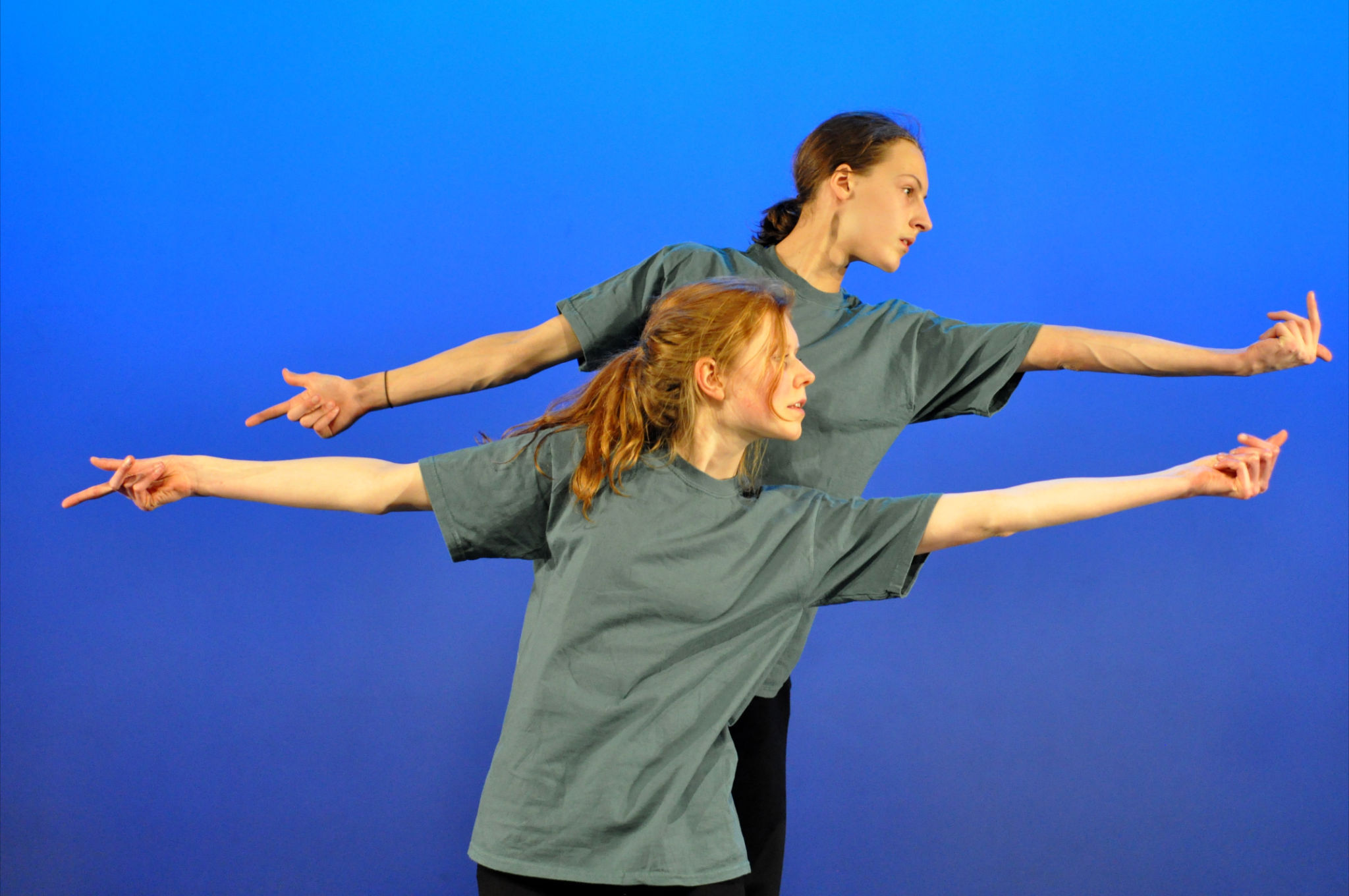 Right moves: Young dancers from Worcester will be joining in for Accelerate. Picture by Lily Price. (s)