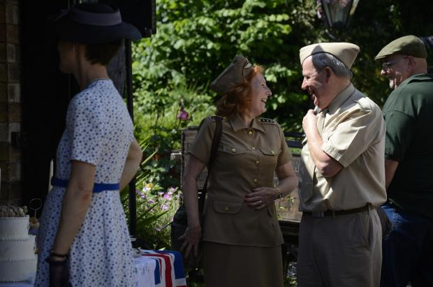 WARTIME MEMORIES: Severn Valley Railway is hosting a weekend of 1940s nostalgic celebrations.