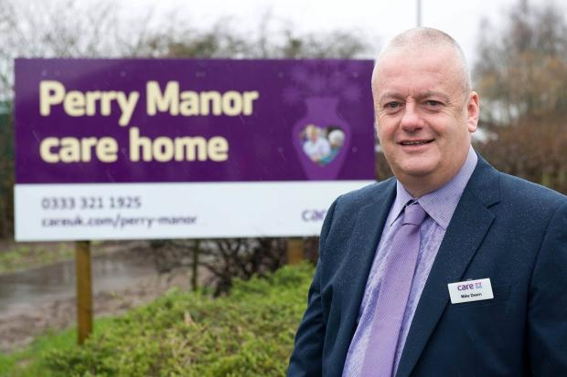 Perry Manor manager Mike Dearn