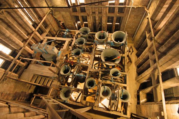Worcester Cathedral bells. Picture by Tom Miles (s)