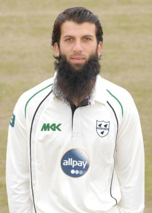 MOEEN ALI: Brief first innings in fourth Test.