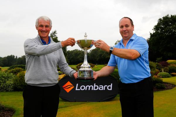 GLENEAGLES-BOUND: Worcester PGA Professional Graham Farr (left) and his amateur partner Shawn Thomas.