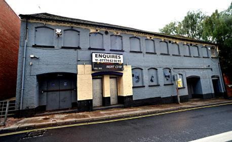 The old Images nightclub in Farrier Street, Worcester