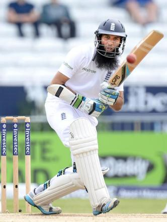 MOEEN ALI: The Worcestershire all-rounder is expecting a tough battle for England against both the Indian batsmen and bowlers.