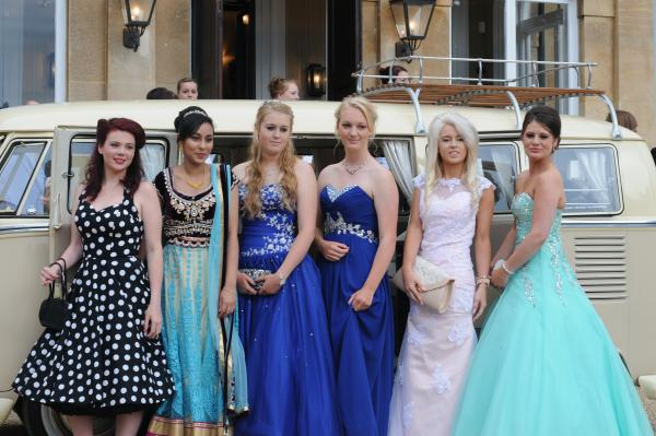 STYLISH: Bewdley pupils Alice Stanley-Haga, Jenna Jafri, Ellie Mayner, Natasha Smith, Esme Smith and Sophie Whyley.