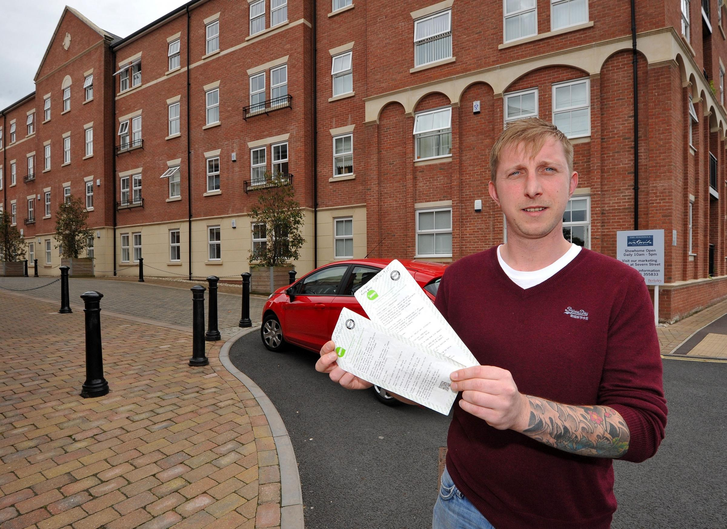 Angry resident refuses to pay parking fines