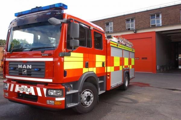 Fire crews called to blaze off Northwick Road