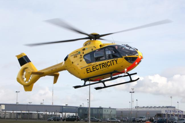 Spotted a yellow helicopter hovering over city? Here's why