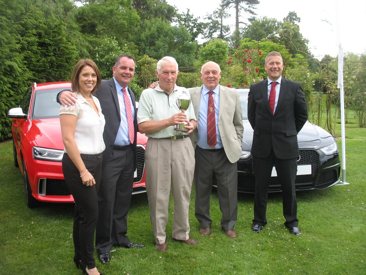 Charity golf day raises £1,570 for prostate cancer campaign