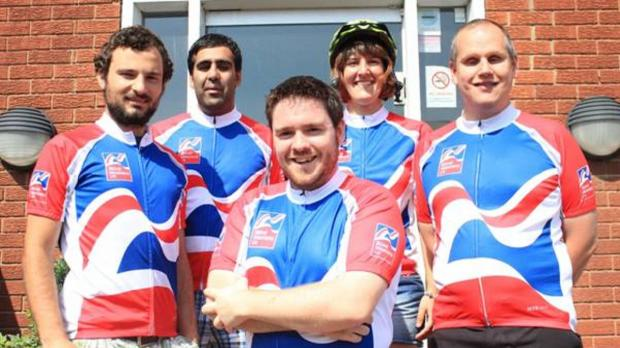 GETTING READY: Members of the Dolphin team James Nicholls, Aj Ahmed, Colin Shales, Jess Price and Dave Williams