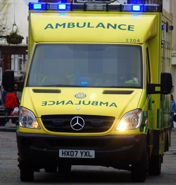 Teenager involved in collision with car in Worcester this afternoon