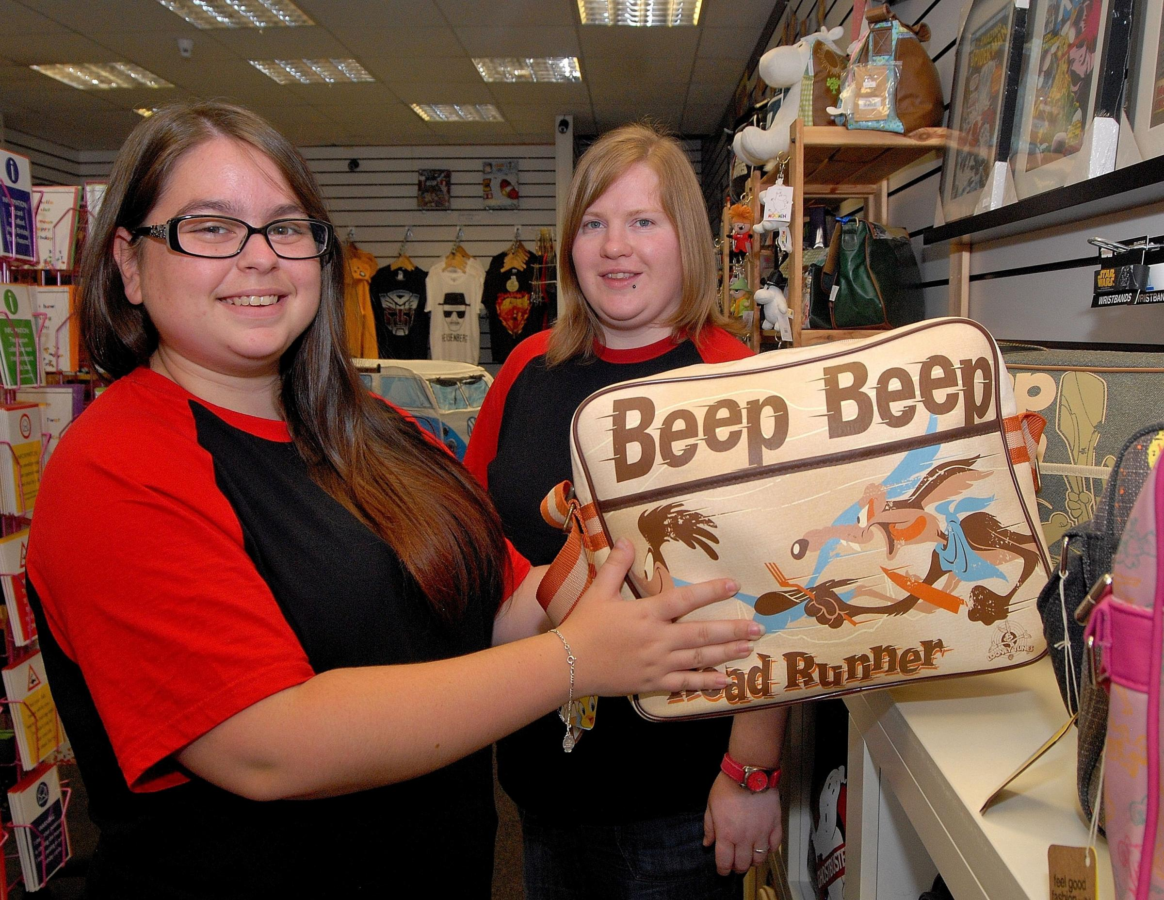 Teenager says work experience at Worcester shop helped build her confidence and says more stores should offer it