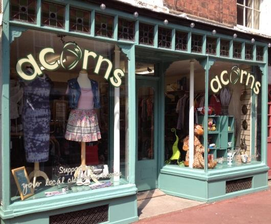 Happy birthday: Volunteers prepare to celebrate first year of Acorns' charity shop in Upton-upon-Severn (s)