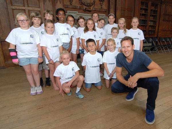 STRICTLY: Dance star Brendan Cole gives tips to RGS pupils