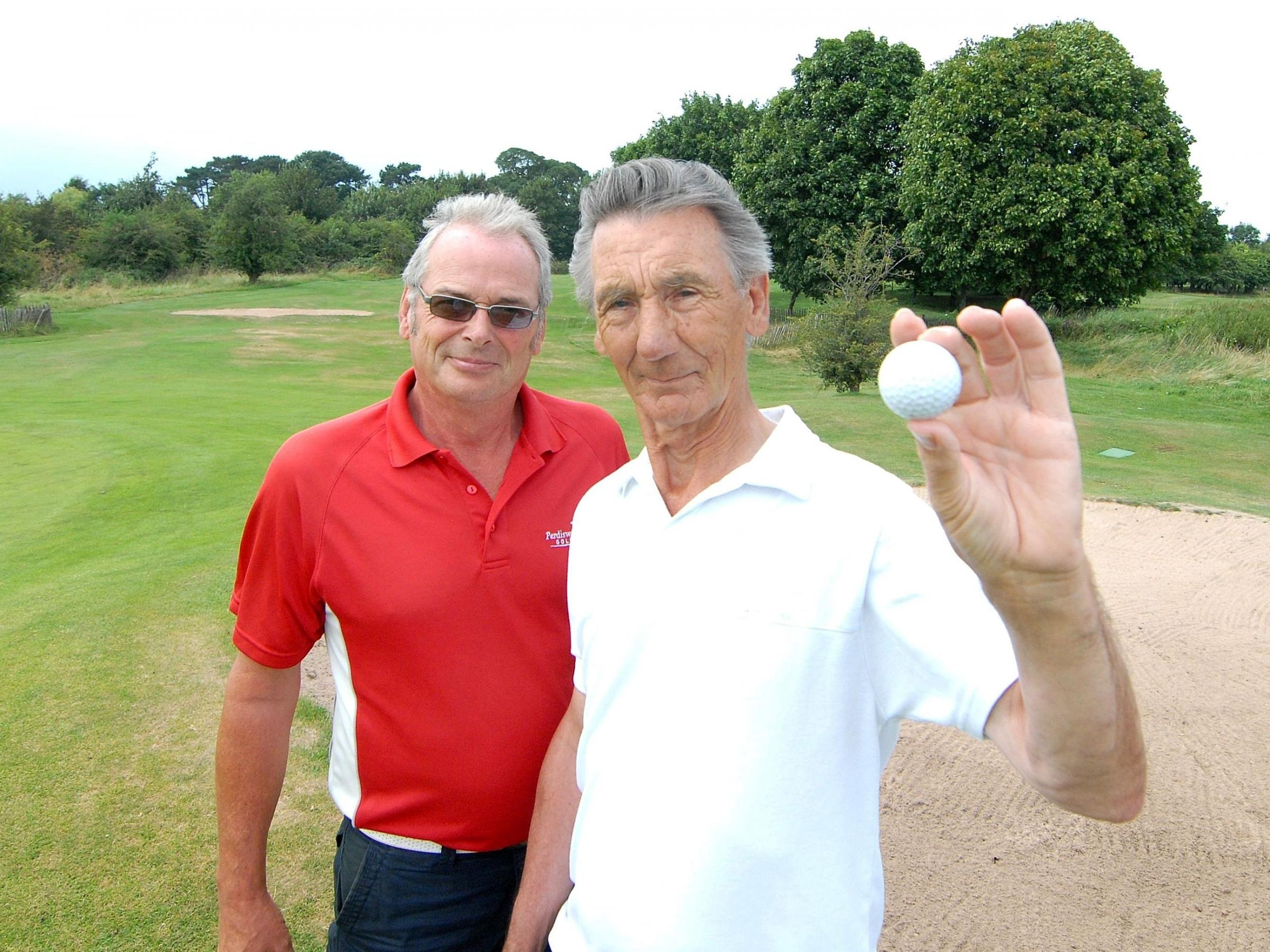 Golfer's injury highlights dangers at Perdiswell course