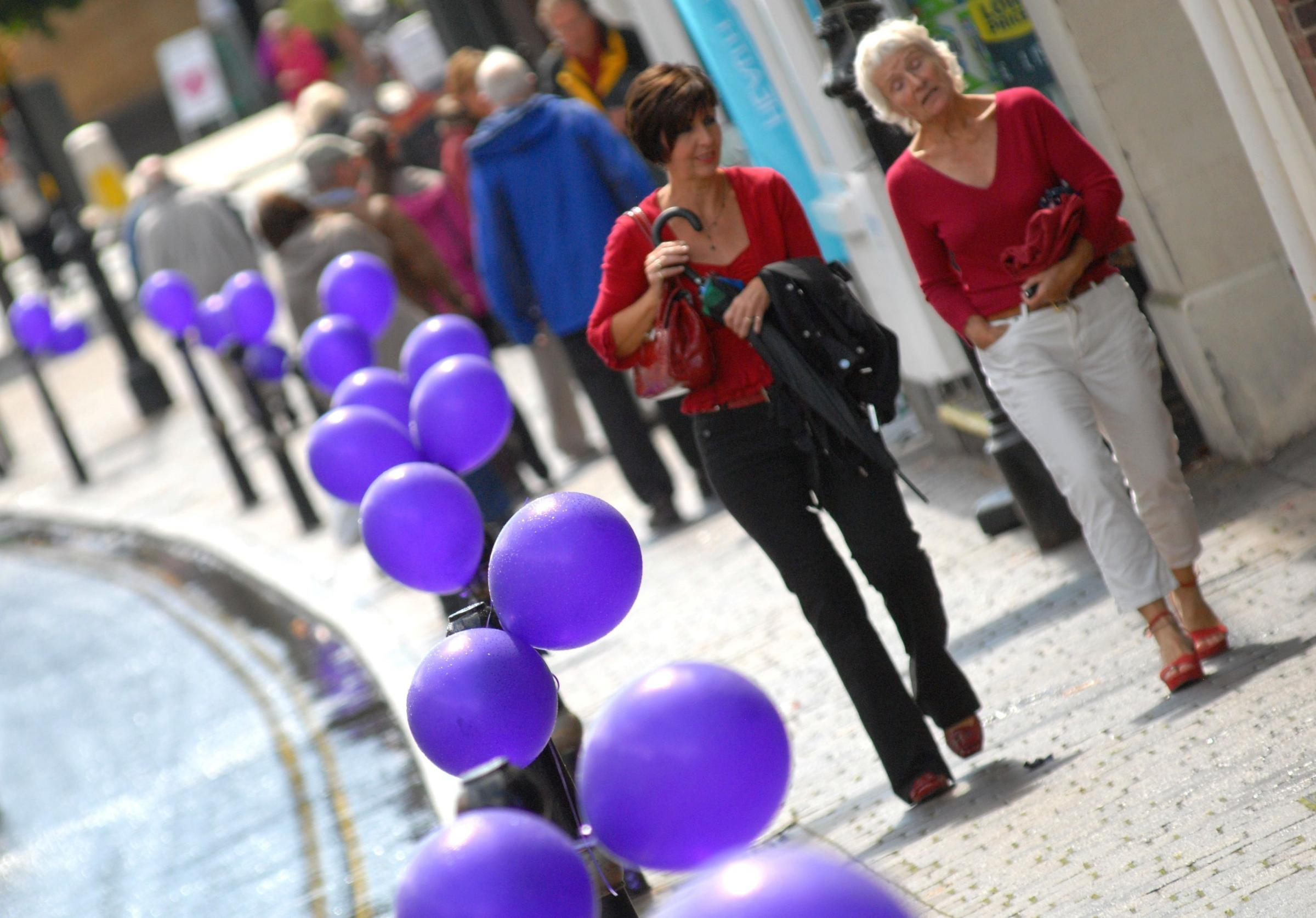 Town turns purple as plum festival gets underway