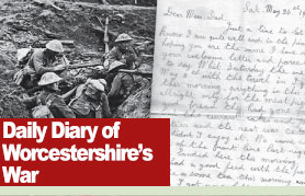 Worcester News: WW1-diary