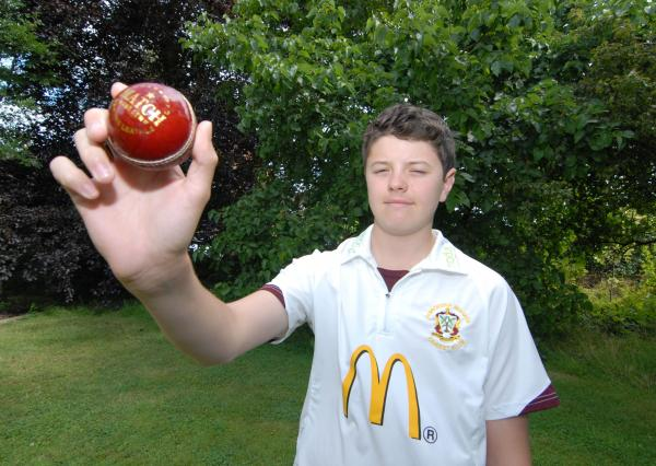 ACE TURN: Teenager Cameron Blakey took 7-23 for Worcester Nomads thirds.