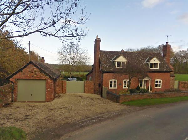 The couple are believed to have lived at Forge Cottage, in Pow Green, near Bosbury