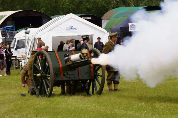 Loud Bangs For Artillery Day