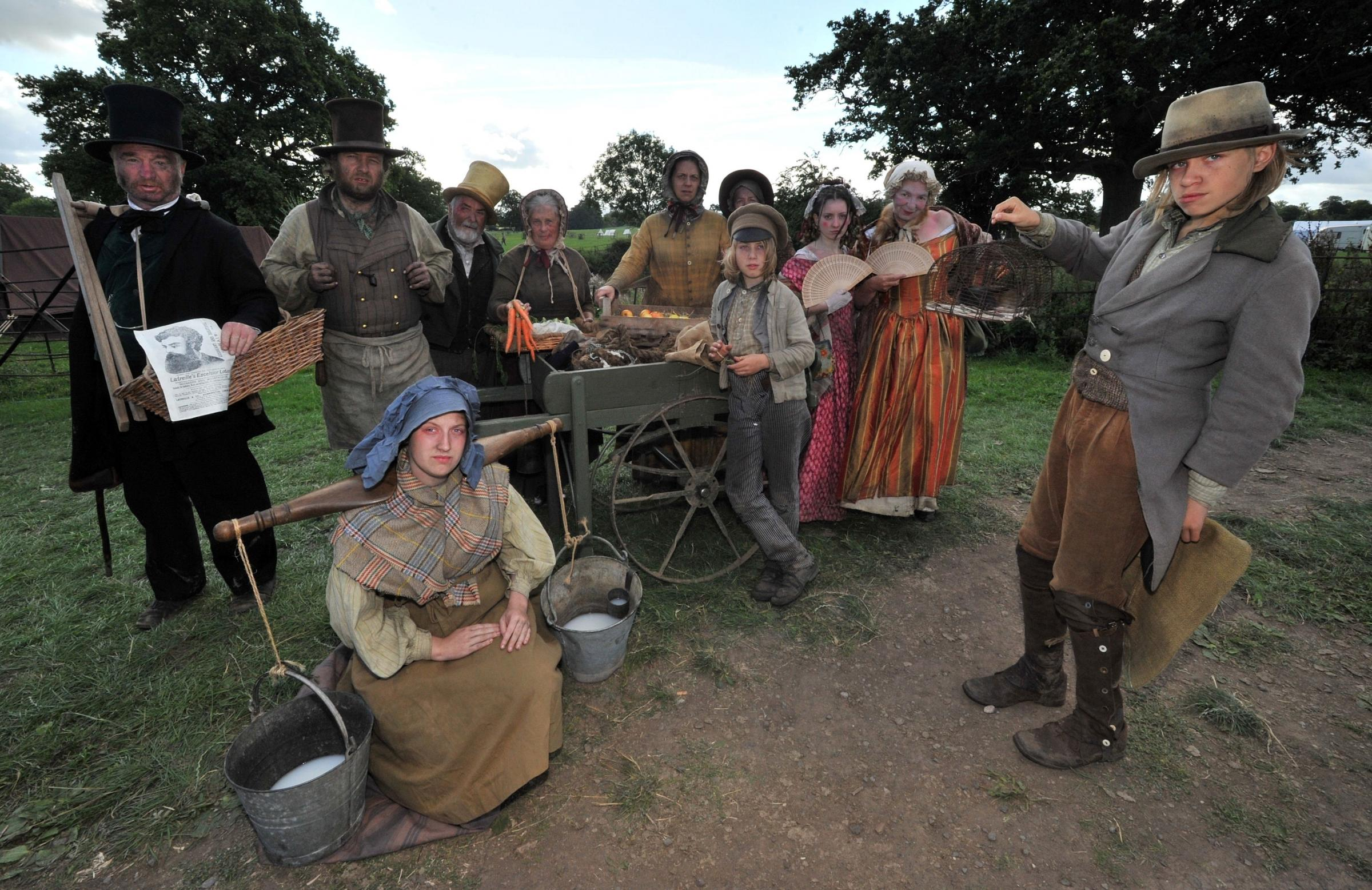 History comes to life at Spetchley reenactment