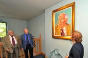Portrait of Henry Sandon unveiled at Museum of Royal Worcester