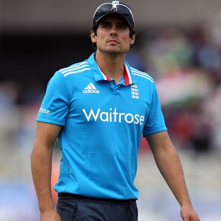 Alastair Cook's England suffered a six-wicket ODI defeat to India