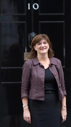 BACKED: Minister for women Nicky Morgan supports new broadband fund