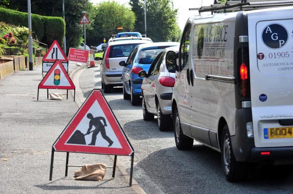 National Grid says 'sorry' over Worcester roadworks
