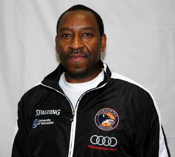 Worcester Wolves director of basketball Paul James.