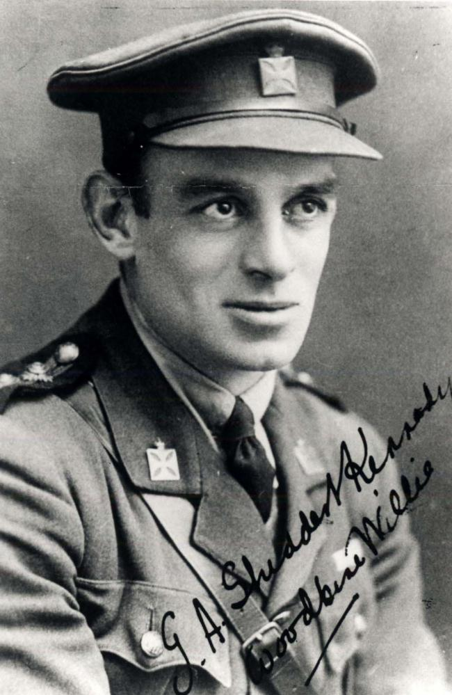 HERO:  the Rev Geoffrey Studdert-Kennedy aka Woodbine Willie